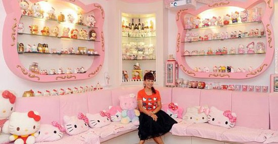 Hello Kitty - Themed House Worth Almost $1 Million