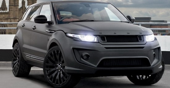 British Kahn Design in its offer points out Kahn Range Rover Evoque RS250 Edition