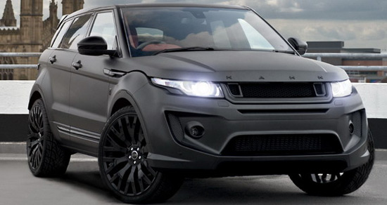 kahn range rover evoque rs250 edition extravaganzi. Black Bedroom Furniture Sets. Home Design Ideas