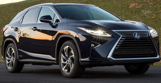 New Lexus RX Now Officially