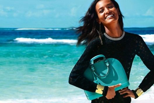 Louis Vuitton launched its new ad campaign via social media