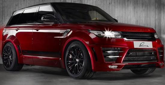 Lumma Design Range Rover Sport CLR RS with new package