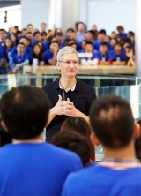Bid on Lunch Date With Apple CEO Tim Cook for Charity