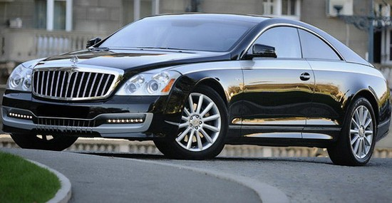 Maybach 57S Coupe Reborn By Austrian DC Dream Cars