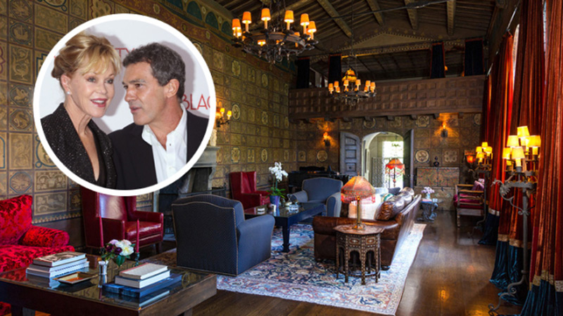 Melanie Griffith and Antonio Banderas List Historic L.A. Estate in Hancock Park