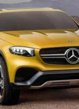 Mercedes GLC Coupe Concept Ready To Fight BMW's X4