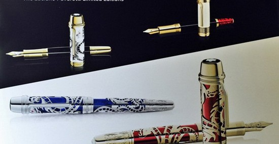 Montblanc Pays Homage to Luciano Pavarotti with Limited Edition Pens