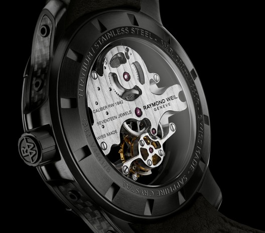 Music-Inspired Nabucco Cello Tourbillon is a First for Raymond Weil