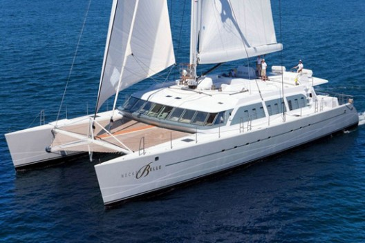 Necker Belle - Richard Branson's Luxury Sailing Catamaran