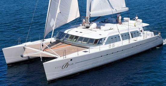 Necker Belle – Richard Branson's Luxury Sailing Catamaran