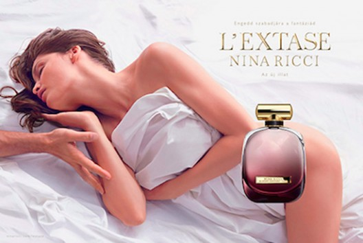 Nina Ricci New Film Campaign for 'L'Extase' Fragrance