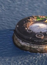 English 19th-Century Sea Fort Transformed Into Luxury Hotel