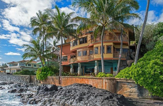 Magnificent Oceanfront Lanikai Home on Sale