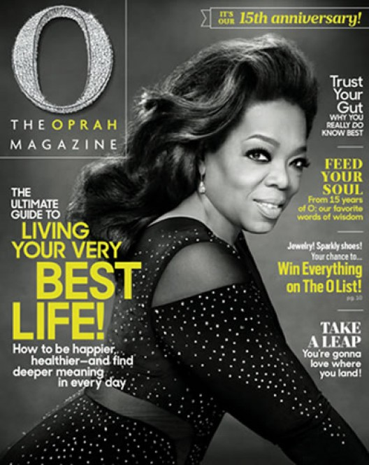 Crystal Anniversary Of Oprah Winfrey's O Magazine