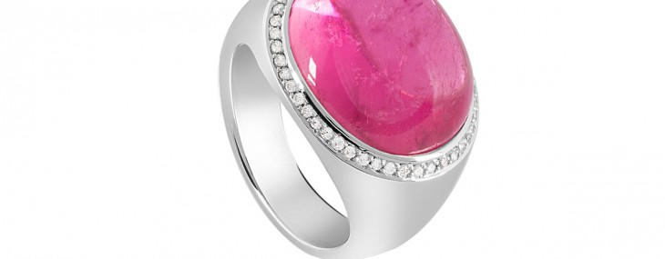 Pink Princess Ring by Selected Jewels