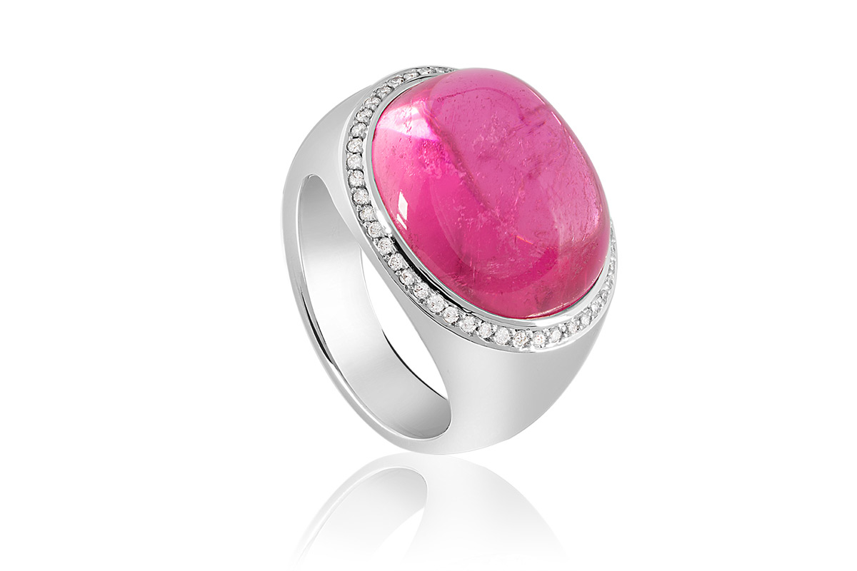 pink princess ring by selected jewels extravaganzi