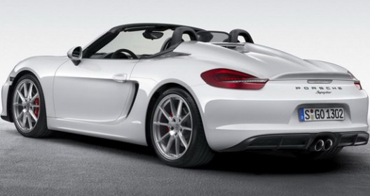 Porsche has just unveiled the new Boxster model