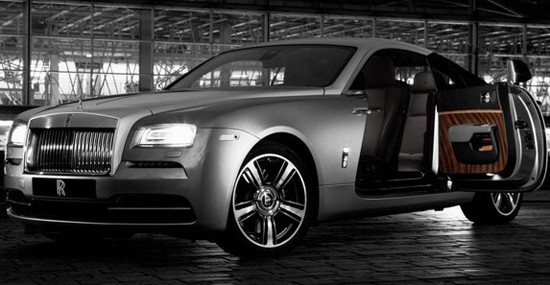 Rolls-Royce Wraith By Film Special Edition Model