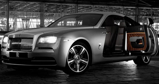 Rolls-Royce Wraith By Film Special Edition Model for New York