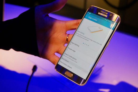 Samsung S6 Edge Gold Harrods Edition With 128GB of Storage