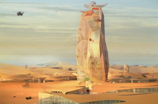 The Sahara desert will soon get a unique city
