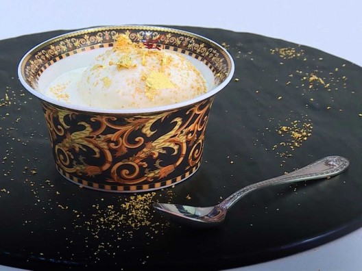 Sweet Perversion - Most Expensive Ice Cream in Dubai Made from Truffles, Saffron and Gold