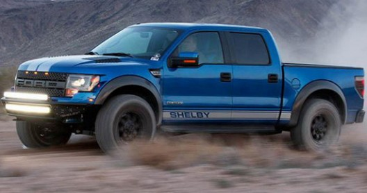 Shelby American represents the enhanced version of Ford's F-150 SVT Raptor