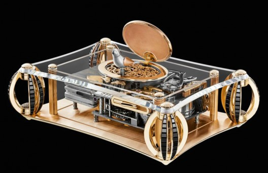 Frères Rochat Brings Back to Life Its Singing Bird Automaton