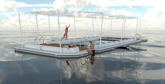 Superpool - Luxury Inflatable Island