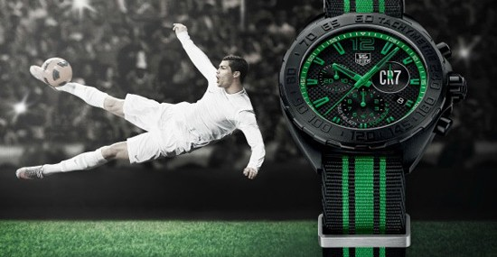 TAG Heuer Cristiano Ronaldo Formula 1 Limited Edition Watch