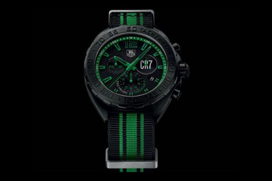 Tag heuer cristiano ronaldo formula 1 limited edition watch extravaganzi for Cristiano ronaldo tag heuer