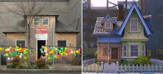House That Inspired ''Up'' Movie Goes to Auction
