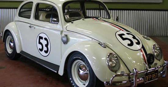 Movie Star Herbie At Barrett-Jackson Auction