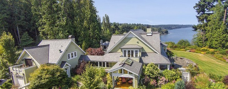 Whidbey Island waterfront estates