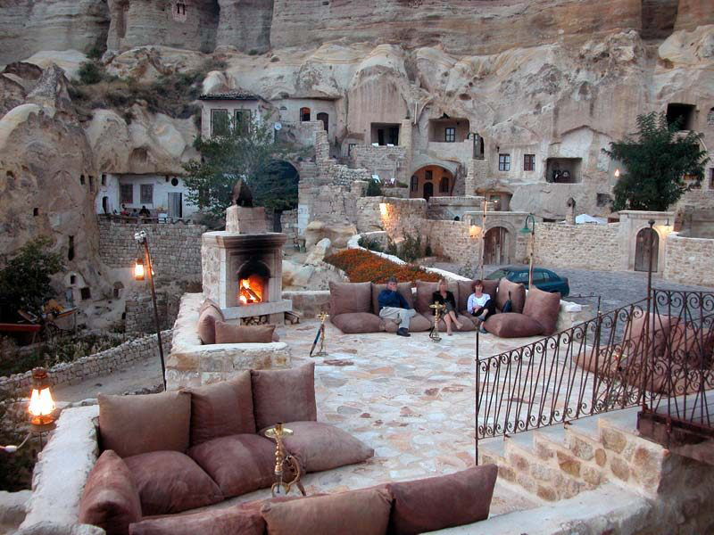 Yunak Evleri - Luxury Cave Resort In Cappadocia, Turkey