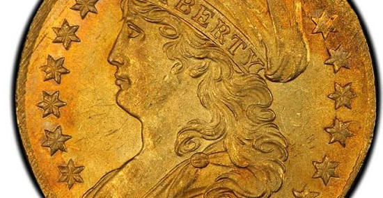 Rare 1808 American Quarter Eagle Gold Coin Sold For $2,35 Million At Auction