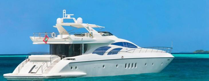 New 30m Azimut 98 Leonardo Yacht at LVMH Cheval Blanc Randheli
