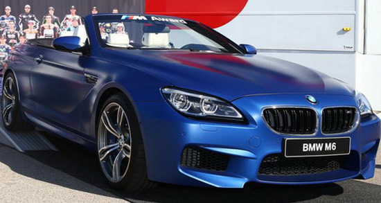 BMW M6 Cabrio Moto GP Special Edition