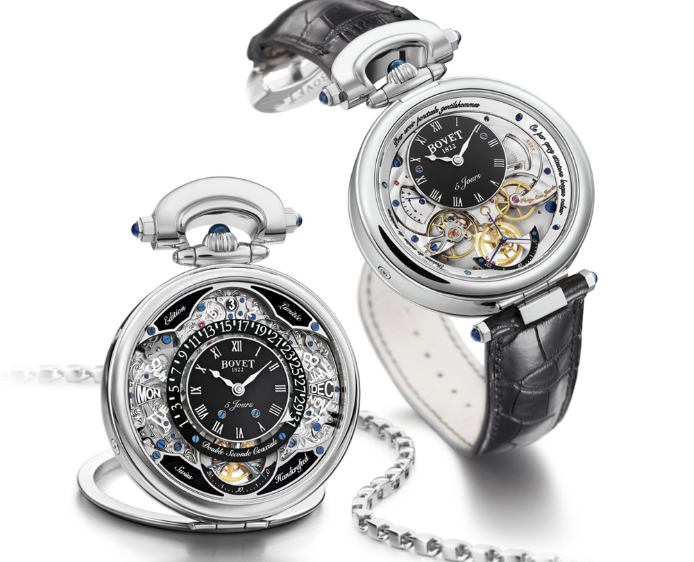 New Bovet 1822 Amadeo Fleurier Virtuoso VII Watch Will Last 400 Years