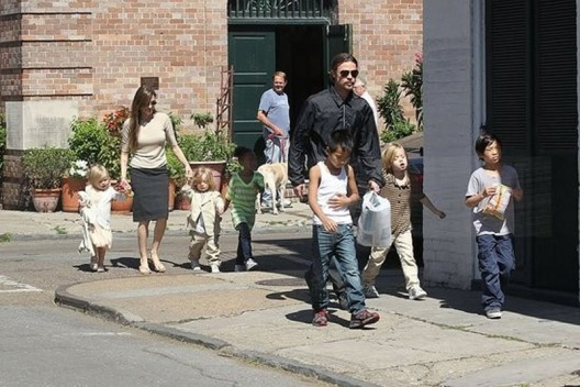 Brad Pitt And Angelina Jolie's New Orleans Mansion