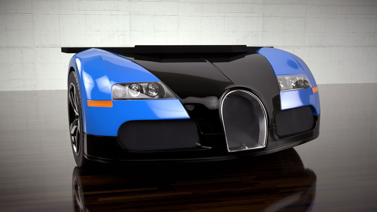 Bugatti Veyron Desk by Design Epicentrum