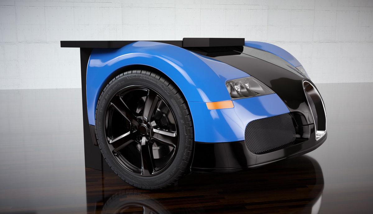 Bugatti Veyron Desk By Design Epicentrum Extravaganzi