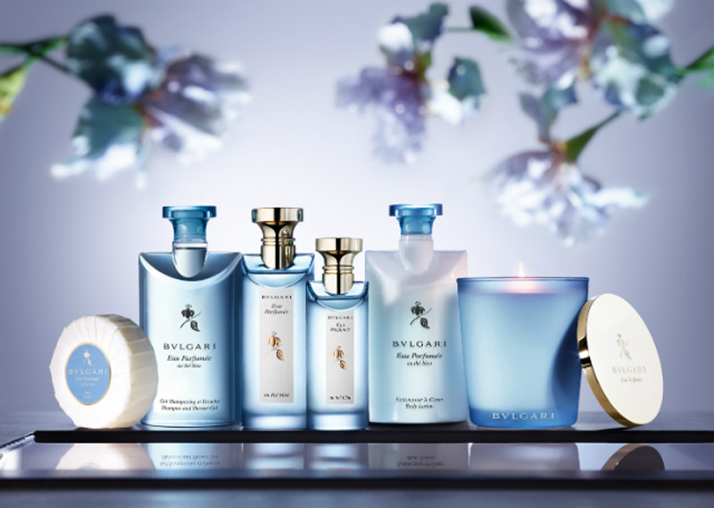 Bulgari Introduces Eau Parfumée au Thé Bleu