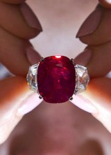 Cartier's Sunrise Ruby Sold For Record $30 Million at Sotheby's Auction