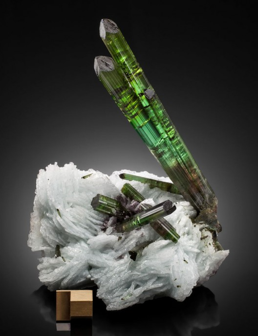 The 'King of Tourmalines' opens his cabinet of extraordinary fine minerals to the world