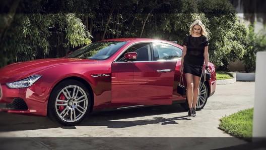 Genevieve Morton New Face of Maserati