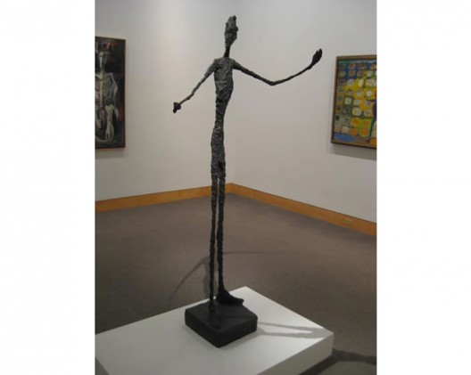 Giacometti's Pointing Man is expected to fetch around $130 million at Christie's NY Auction