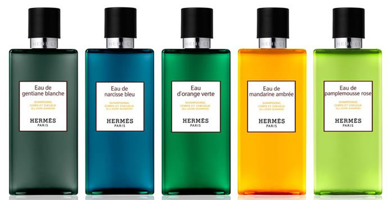Hermés launches men's body and bath products