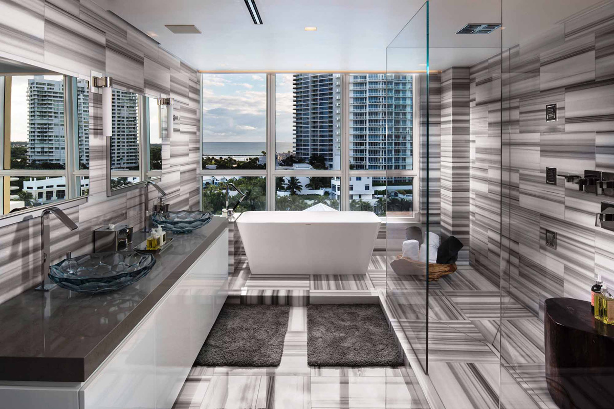 living it up kardashian style their hilton bentley penthouse in miami. Cars Review. Best American Auto & Cars Review
