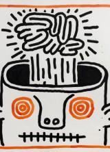 Keith Haring's Important Work at Bonhams